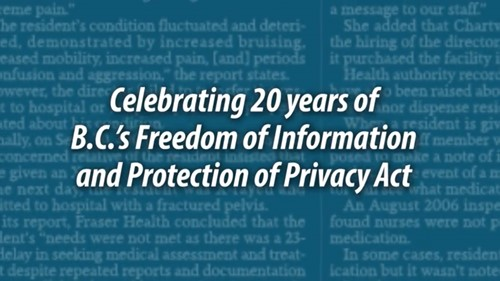 Protection of Privacy Act